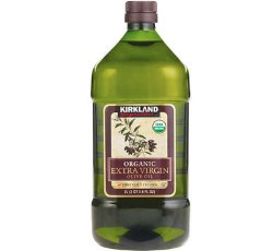 Kirkland Signature Organic Extra Virgin Olive Oil – Best Olive Oil for Cooking and Frying