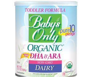 Baby's Only Organic Dairy with DHA & ARA Formula Review