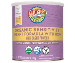 Earth's Best Organic Sensitivity Infant Formula With Iron Review