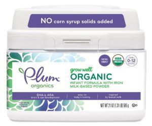 Plum Organics Grow Well Organic Infant Formula Review