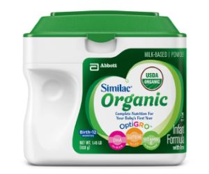Similac Organic Infant Formula with Iron Review