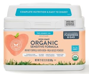 The Honest Co. Organic Non-GMO Sensitive Infant Formula Review